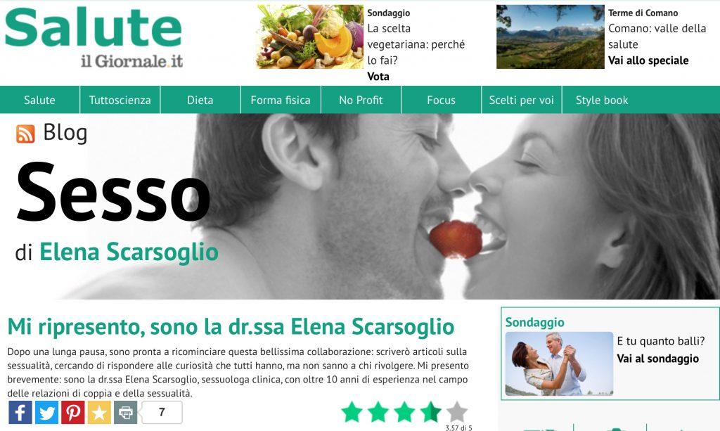 Blog sesso